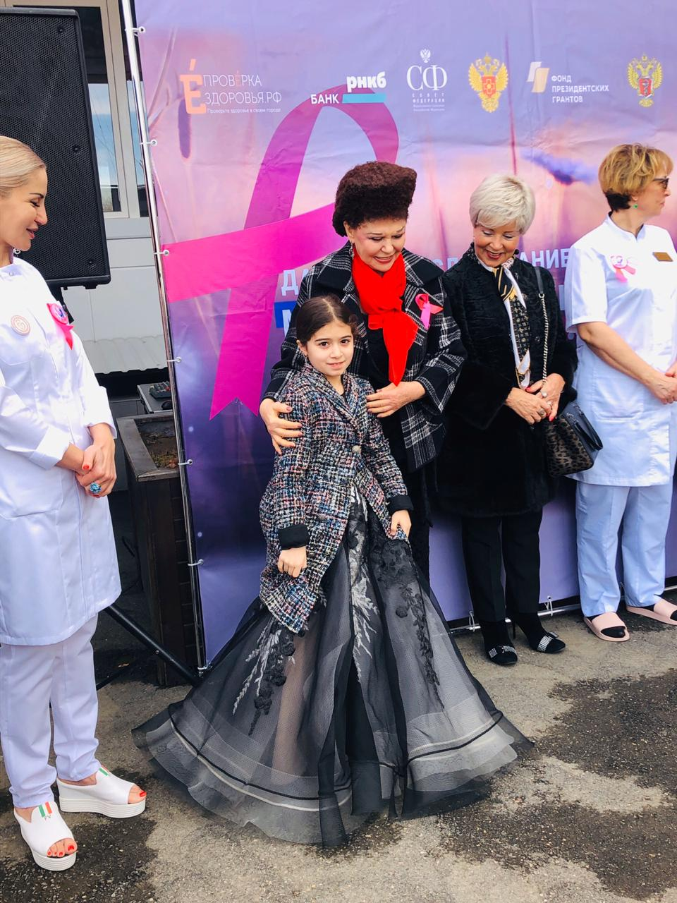 В городе Нальчик состоялась акция «Розовая ленточка».