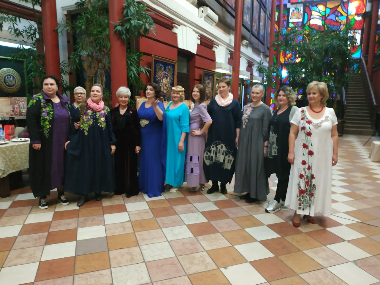 Встреча для онкологических пациентов в преддверии Международного женского дня.
